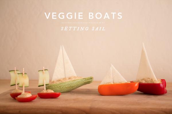 veggie boats