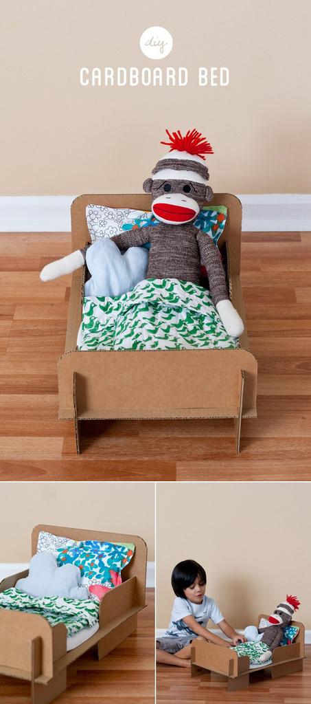 DIY-Cardboard-Bed