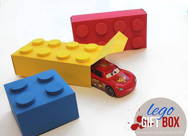 1 - lego gift box