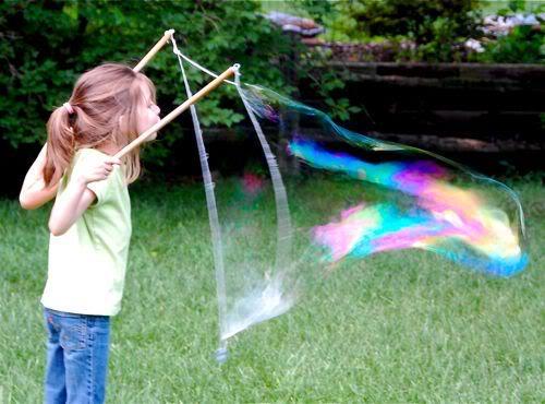 自製大泡泡