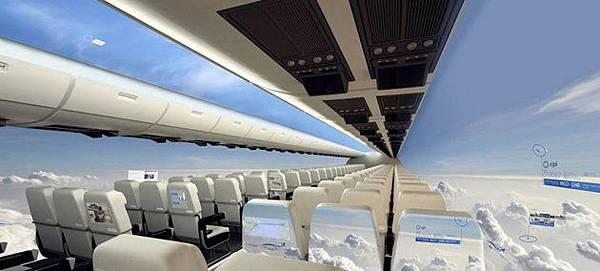 透明飛機將問世